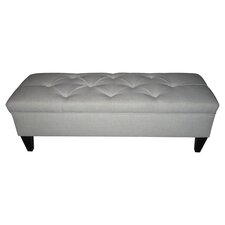 Brooke Tufted Storage Bench in Magnolia