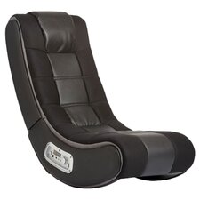 Video Rocker Gaming Chair in Black