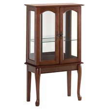 Distinguished Curio Cabinet in Brown