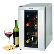 8 Bottle Private Reserve Wine Cellar in Stainless Steel