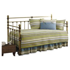 Fresno 5 Pieced Daybed Quilt Set in Green