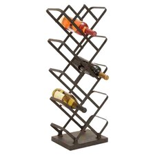 14 Bottle Tabletop Wine Rack in Bronze