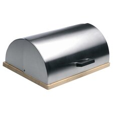 Cubo Bread Bin in Stainless Steel