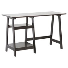 Baxton Studio Writing Desk in Dark Espresso