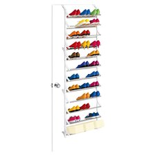 Over Door Shoe Rack in White II