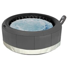 Castello 4 Person Inflatable Bubble Spa in Dark Grey