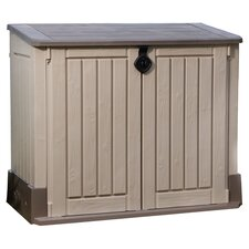 Woodland Storage Shed in Taupe