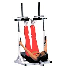 Vertical Leg Press Lower Body Gym in Black & White