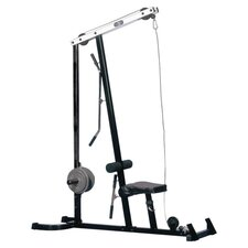 Economy Lat Machine Upper Body Gym in Black