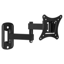 "Full Motion 25"" TV Wall Mount in Black"