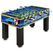 Crossfire Soccer Foosball Table in Blue