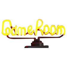 Game Room Sign in Yellow