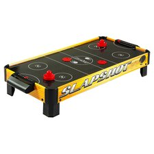 Slapshot Tabletop Air Hockey in Yellow