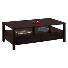Olympia Coffee Table in Matte Coffee Bean