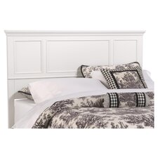 Bedford King Headboard in White