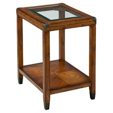 Modesto Chairside Table in Brown