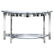 Mercury Console Table in Silver