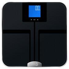 Precision GetFit Digital Bathroom Scale in Black