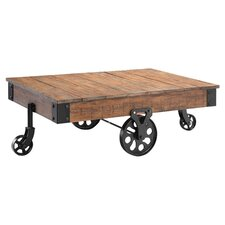 Polar Estate Coffee Cart Table in Brown