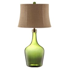 Trent Table Lamp in Green