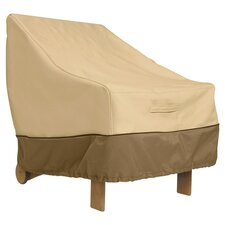 High Back Chair Cover in Tan