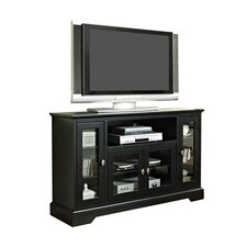 "Hi-boy 52"" TV Stand in Black"