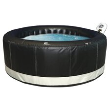 Camaro 4 Person Inflatable Spa in Black