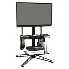 "Spy 42"" Adjustable TV Stand in Black"
