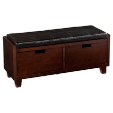 Beringer Entryway Bench in Espresso