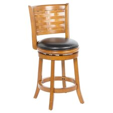 "Sumatra 24"" Counter Stool in Brush Oak"