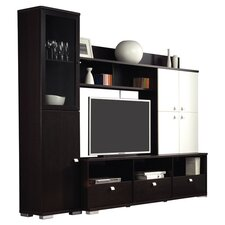 Aspen TV Cabinet in Wenge & Ivory