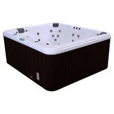 5 Person 37 Jet Lounger Spa in Smoke