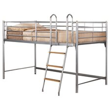 Cosmo Midsleeper Bed in Silver