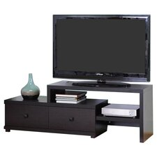 "Blythe 58"" TV Stand in Dark Brown"