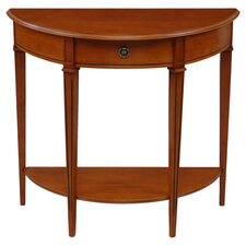 Gloucester Demilune Console Table in Teak