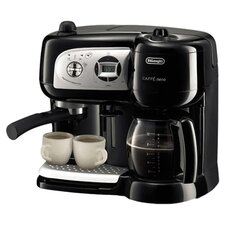 Café Nero Coffee & Espresso Machine in Black