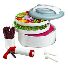 Snackmaster Encore Food Dehydrator in White