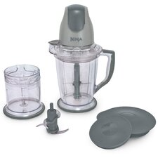Ninja Prep Food Processor & Drink Mixer in Gray
