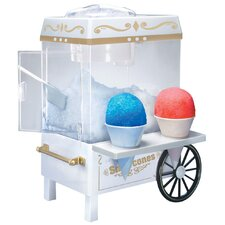 Carnival Snow Cone Maker in White