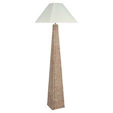 Raffles Pyramid Floor Lamp Base in Natural