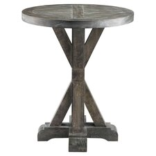 Bridgeport End Table in Weathered Grey