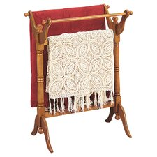 Nostalgic Quilt Rack in Oak