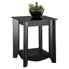 Aero End Table in Black