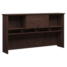 Buena Vista Desk Hutch in Brown