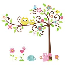 Scroll Tree Peel & Stick Wall Decal