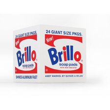 Brillo Pouf in White