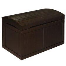 Barrel Top Toy Box in Espresso