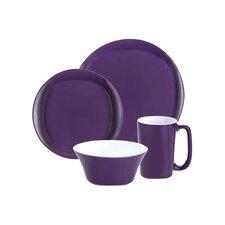 16 Piece Dinnerware Set in Purple