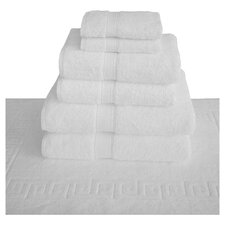 Reynolds 7 Piece Luxury Spa Towel Set in White