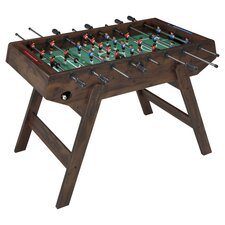 Deluxe Foosball Table in Brown
